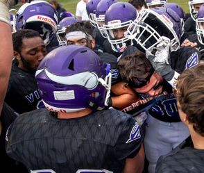 """SAGINAW, MI - No running clocks, no easy touchdowns, not even a chance to celebrate early. Saginaw Swan Valley received its first taste of football mortality this season, but the Vikings found enough punch to punch back and claim a 36-28 Division 5 regional championship win Saturday over Reed City. """"They did some things that we hadn't seen before,"""" Swan Valley coach Kevin Gavenda said. """"But they have the personnel to do it. They have the talent and the athletes. It became a game of adjustments, back and forth. """"This shows that we can play through adversity and overcome challenges against a team that did a great job."""" Michigan Regional Final Scoreboard Playoff brackets Swan Valley-Reed City photo gallery Portland runs over Frankenmuth"""