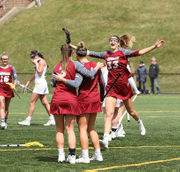 UMass women's lacrosse defeats La Salle, 22-10 (photos)