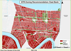 Short-term rental housing in almost all of Jefferson Parish turned illegal Friday (Feb. 22), a year after the Parish Council banned the practice in residential areas. Regulators said they will resume investigating 191 property owners whom they had identified as potential violators, and issue citations if needed. Enforcement began as the law's one-year grace period ended and the 2019 Mardi Gras season moved into its final 12 days. The timing was intentional, to eliminate short-term rentals before prime time for Carnival visitors. The law grew out of increasing friction, similar to conflicts across U.S. cities and suburbs, among property rights, household budgets, tax revenue, neighborhood integrity and the role of government in setting boundaries. Jefferson came down hard, forbidding short-term rentals in all but commercial and mixed-use zoning districts and in the parish's six municipalities, which make their own laws.