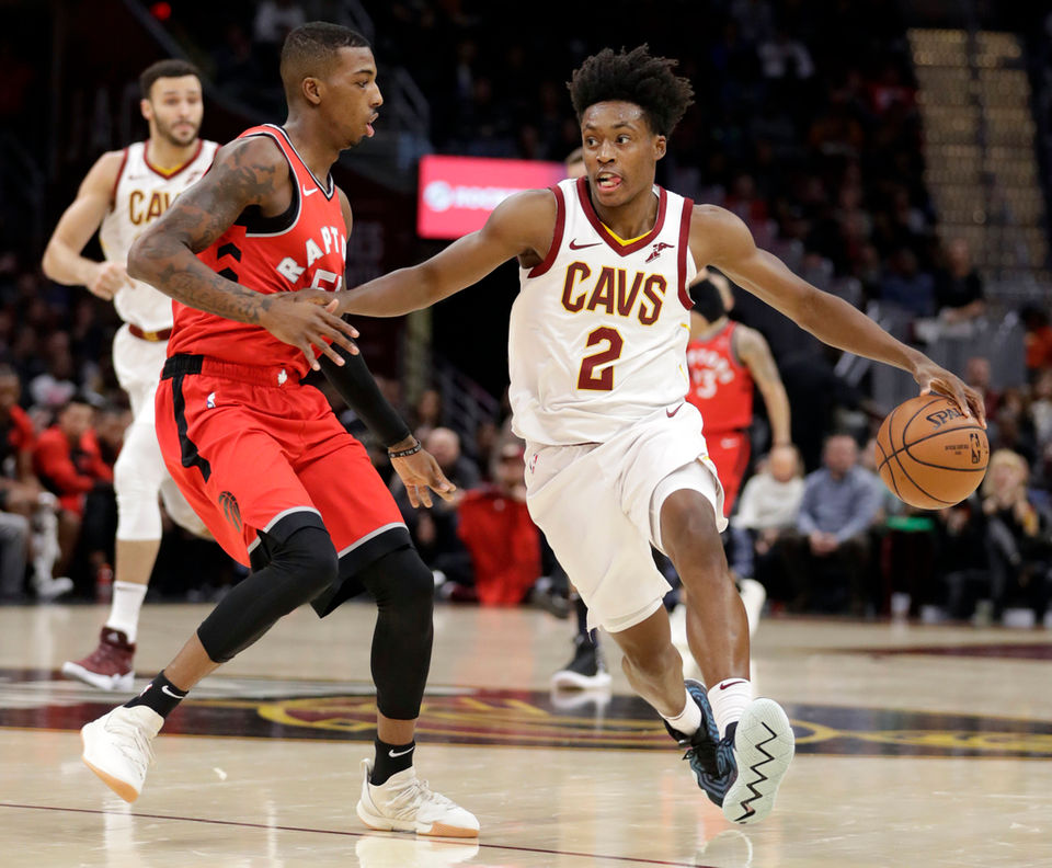 timeless design f6b6f 4124e Cleveland Cavaliers experimenting with Collin Sexton off the ...