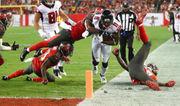 Atlanta Falcons happy to have Julio Jones healthy for offseason work this year
