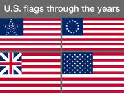 Flag Day: See 43 U.S. flag designs over the years; star pattern was not uniform until 1912