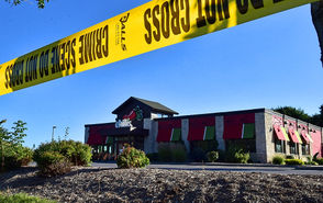 2 dead in overnight robbery at Chili's Grill and Bar in DeWitt.