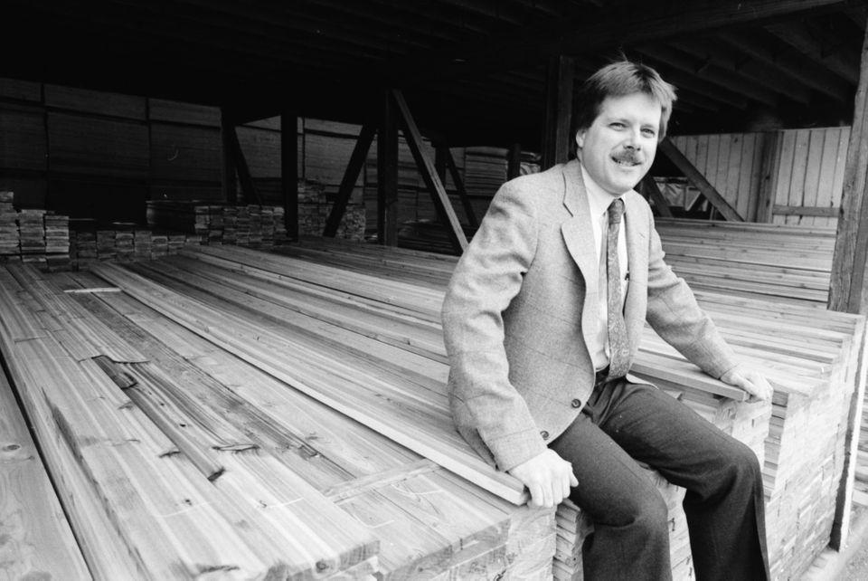 Historical photos of Fingerle Lumber in Ann Arbor over the