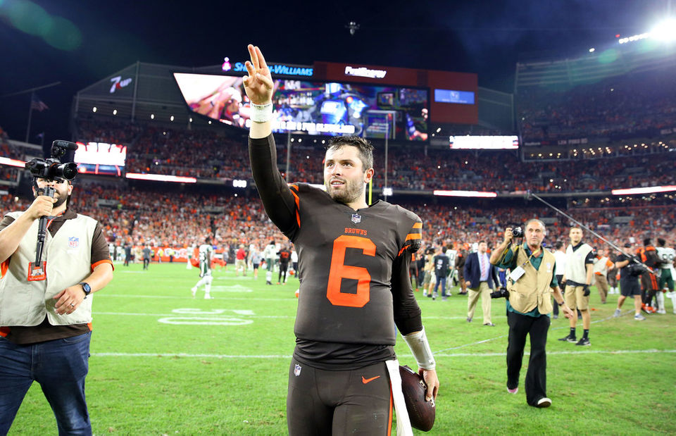 size 40 28fd8 b56da Cleveland Browns QB Baker Mayfield earns A+ in victory over ...