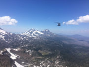 Oregon City woman airlifted from Broken Top in central Oregon