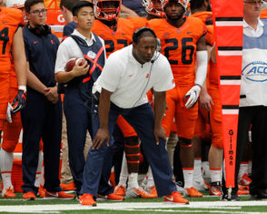 Syracuse, N.Y. -- Syracuse football is looking for its first 4-0 start since 1991 before it hits the road for a major test at Clemson. To get there, it must get by UConn at 4 Saturday afternoon at the Carrier Dome, a game featuring the return of former SU QB and assistant Randy Edsall. Edsall's former teammate, Joe Morris, will have his No. 47 jersey retired during the game as well. That's not the only thing to watch for on Saturday. Scroll down for why Syracuse will breeze by the Huskies, and why, just maybe, UConn will stun the Orange despite being a 27.5-point dog.