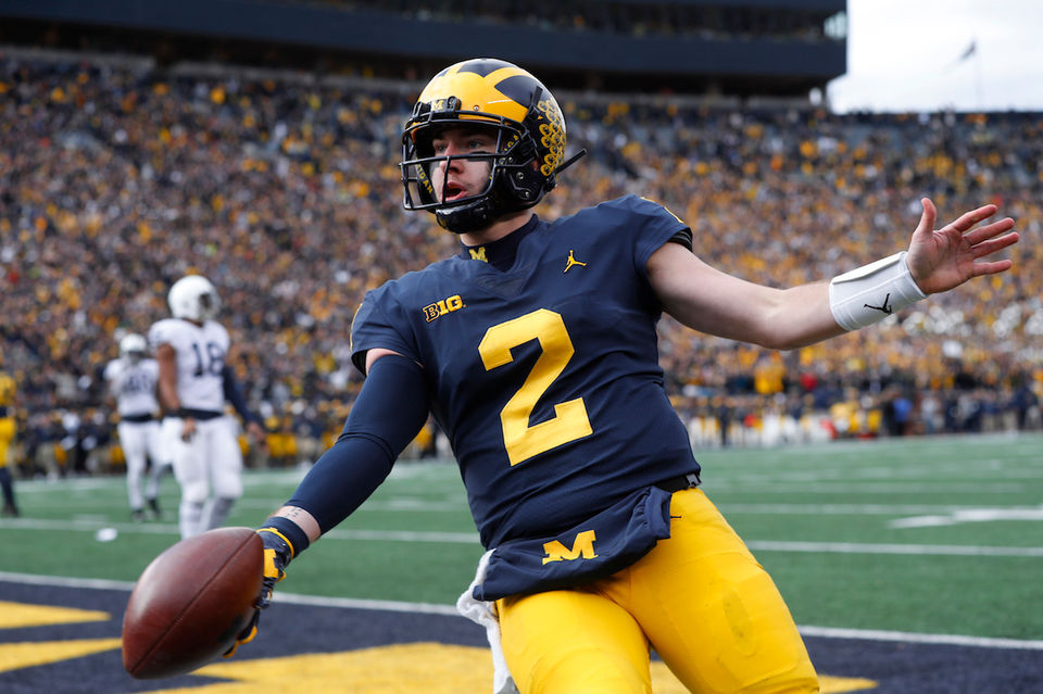 Ohio State vs. Michigan Countdown: Shea Patterson's stats that show Michigan's vastly improved quarterback play
