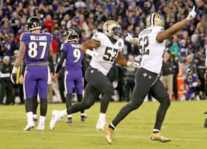 Things were looking a little dicey Sunday (Oct. 21) for the New Orleans Saints as the clock wound down against the host Baltimore Ravens.  Justin Tucker (9), who walked into the game never having missed an extra-point attempt in his career, lined up to make the game-tying kick, and all signs suggested the teams were headed for overtime.  But then, Tucker missed. The Saints sailed out of Baltimore with another win, their fifth in a row, and Saints fans were no less happy.  See reactions to Tucker's missed kick below.