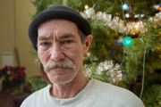 Homeless artist makes Christmas cards, donates half the proceeds
