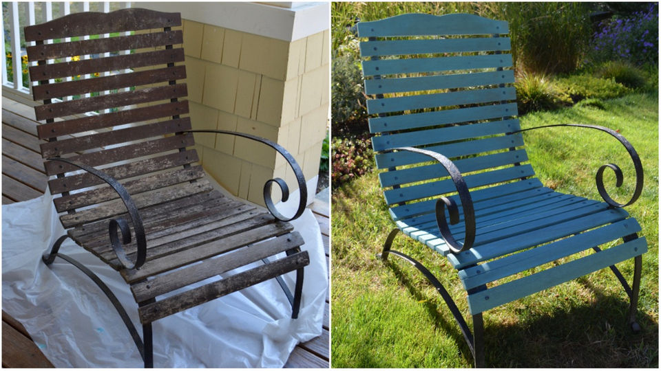 Refinishing outdoor chairs: How to find, realize potential treasure (the  Pecks) - Refinishing Outdoor Chairs: How To Find, Realize Potential Treasure