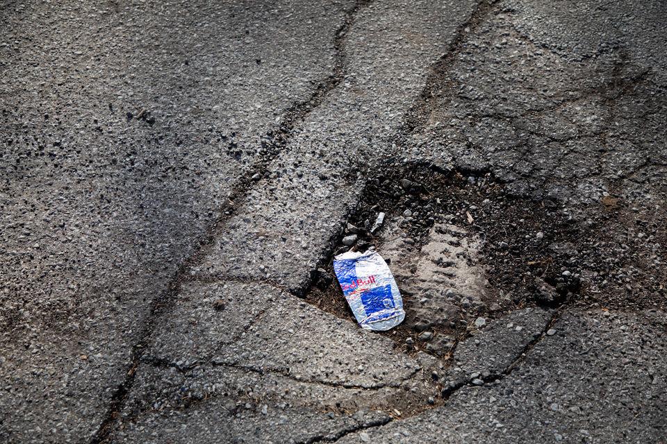Let's poke some fun at the potholes that plague us
