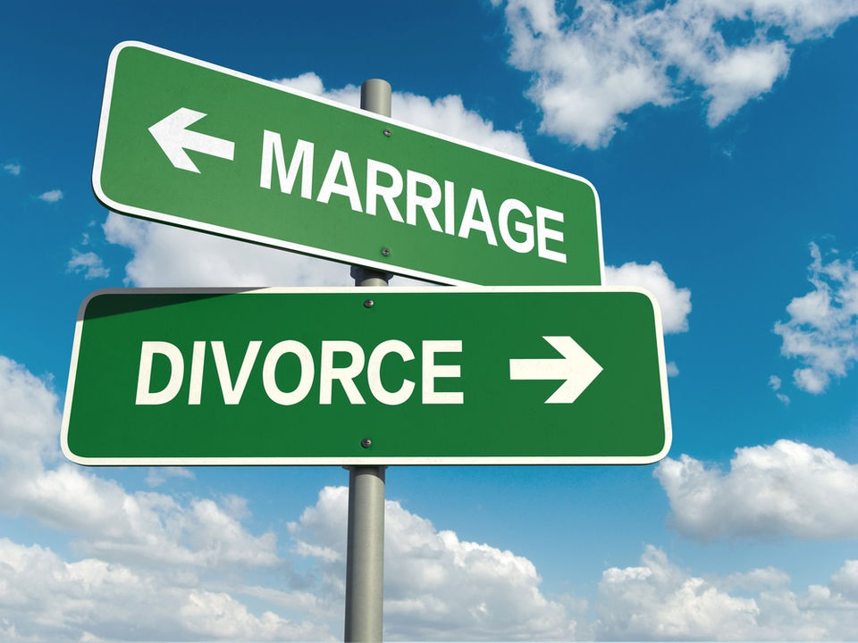 divorce rate in the world