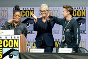 San Diego Comic-Con 2018: Jamie Lee Curtis embraces fan who says 'Halloween' saved his life