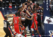 Pelicans keep composure through feisty Game 4 vs. Portland