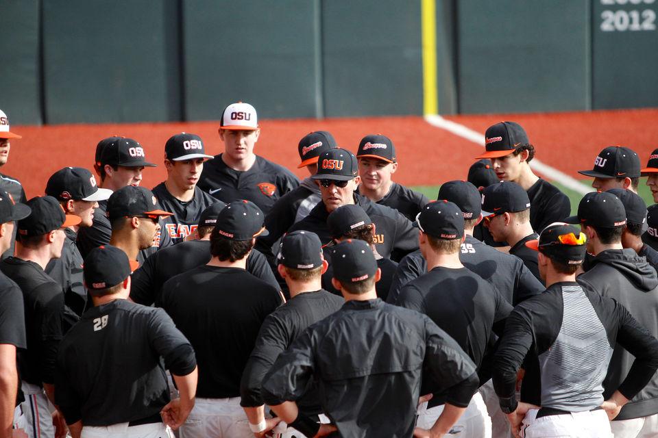 Oregon State Beavers open baseball practice