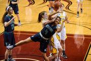 See photos as Saginaw Heritage wins a 2018 Class A girls basketball semifinal