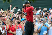 PGA Tour Championship 2018: Tiger Woods completes comeback with 2-stroke win
