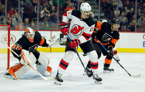 """The Devils took five straight penalties in the middle of the game, some from its marquee penalty killers, and could never find a rhythm against the Flyers. They turned it into a half-ice game against us and we just started taking penalties,"""" Devils captain Andy Greene said. """"We always talk about how there are so many different games and we just didn't do enough tonight."""" Although the Devils only gave up one power play goal, on the Flyers' first advantage of the game, the lack of rhythm and flow hurt New Jersey's ability to use its speed to gain any momentum."""