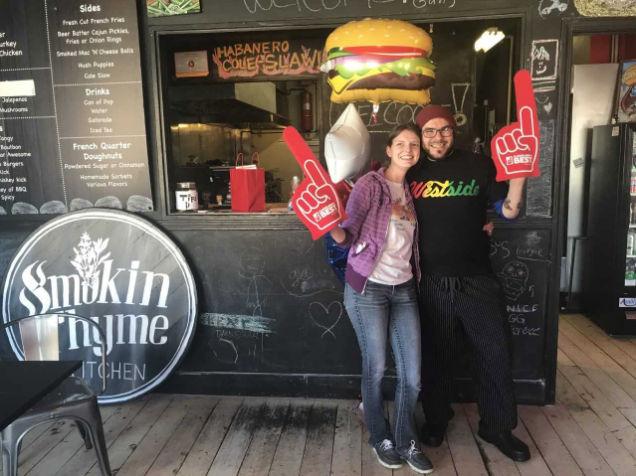 Smokin' Thyme Burger: Build the burger you want (photos, video, poll
