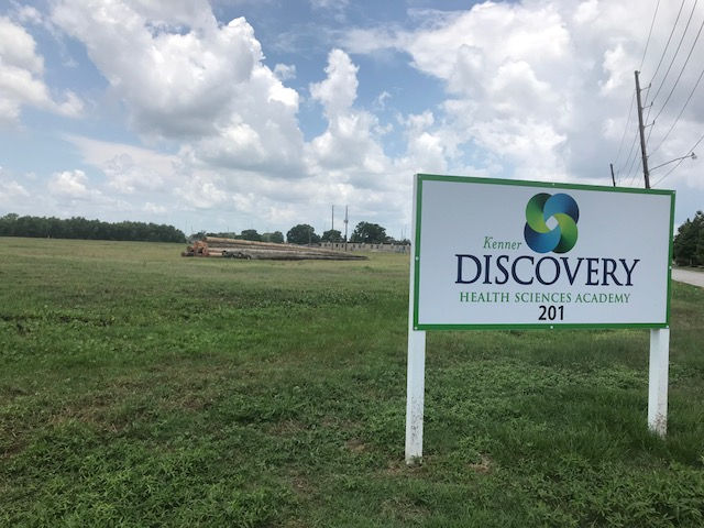 Kenner Discovery Health Sciences Academy seeks resubdivision to build