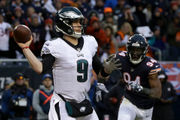 Where does Eagles' Nick Foles rank among top Philadelphia sports legends? | Ahead of Dr. J? Reggie White? Mike Schmidt? Allen Iverson?