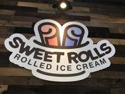Sweet Rolls - rolled ice cream - rolls into St. Tammany