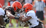 What happened at Browns training camp Day 13