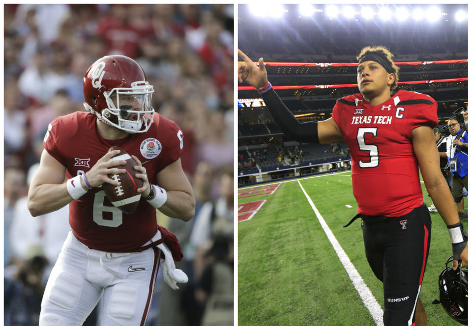 The Patrick Mahomes-Baker Mayfield Game  Inside the 66-59 shootout ... 54bb9cffd