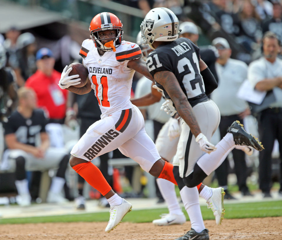 finest selection ec36b 2be51 Can Antonio Callaway become the Browns' No. 1 receiver? Hey ...
