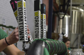 Wormtown Brewery in Worcester celebrated its 8th birthday on March 17, 2018.