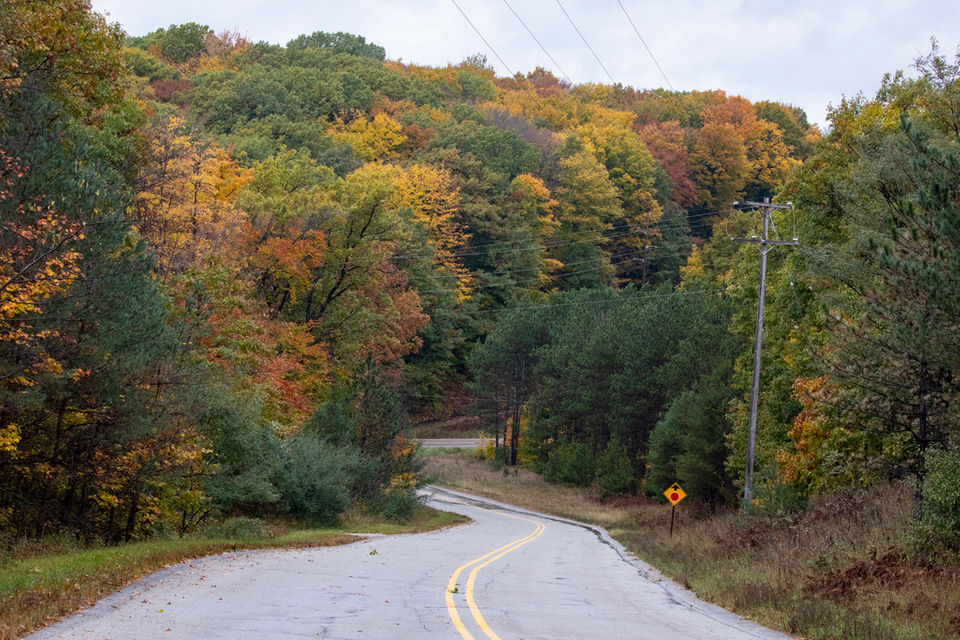 Where and when to drive Michigan's back roads for peak fall color