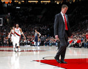 Who do you blame for Portland Trail Blazers' Game 1 loss to the Pelicans: The players or the coach?