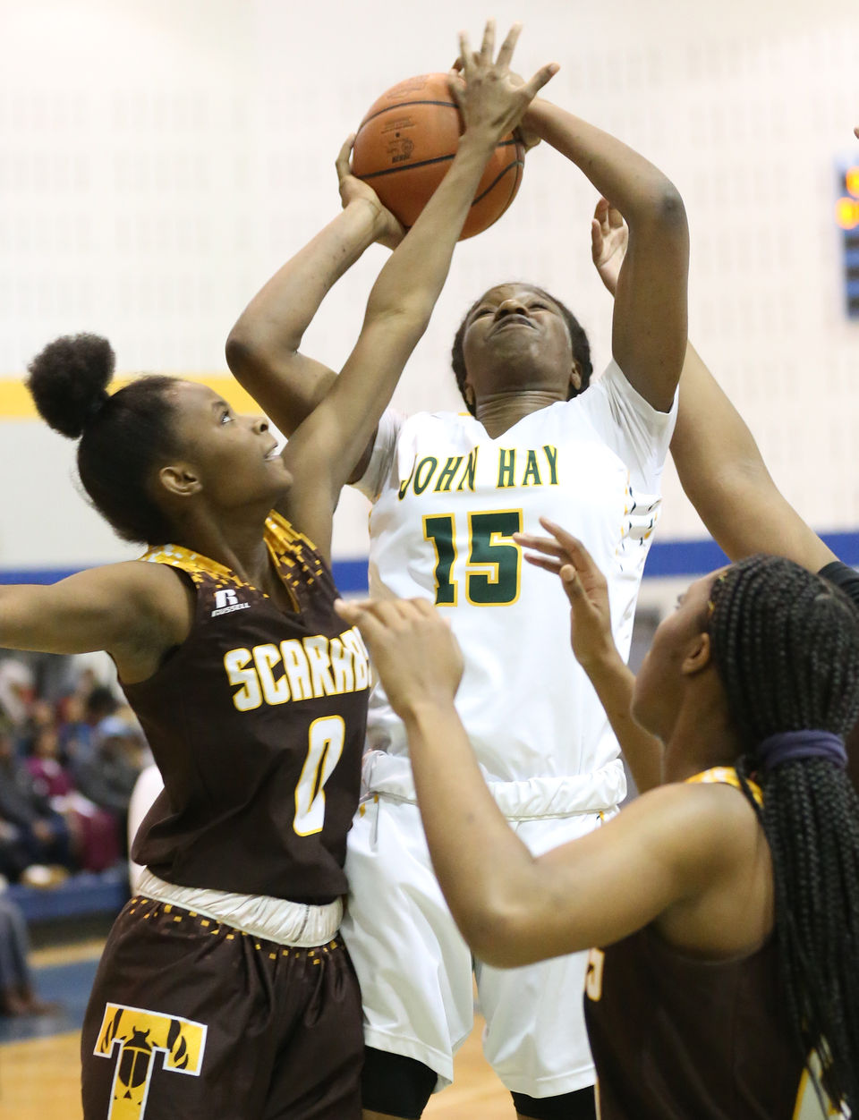 Cleveland high school girls basketball cleveland john hay girls basketball wins first city championship with 67 34 win vs east fandeluxe Image collections