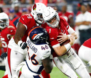 Auburn NFL roundup: Jeff Holland provides sack, takeaway in Broncos' win