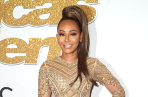 """Mel B attends the """"America's Got Talent"""" Season 13 Live Show Red Carpet at the Dolby Theatre on September 18, 2018 in Hollywood, California."""