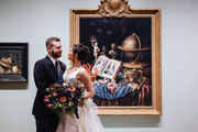 This local couple's wedding was inspired by a painting
