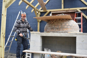 Doug Monette plans a year-round community hub with good local food, beer, and grocery items.