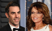 Sacha Baron Cohen savagely responds to Sarah Palin; 'Downton Abbey' movie; more: Buzz