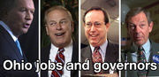 Ranking Ohio governors for jobs: John Kasich's current term is a lot like Ted Strickland's record vs. the U.S.
