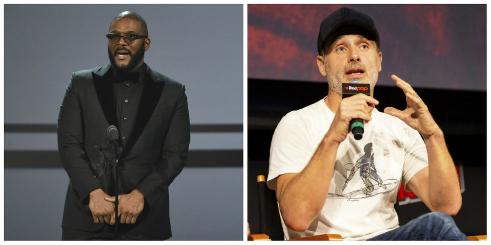 Today's famous birthdays list for September 14, 2019 includes celebrities Tyler Perry, Andrew Lincoln