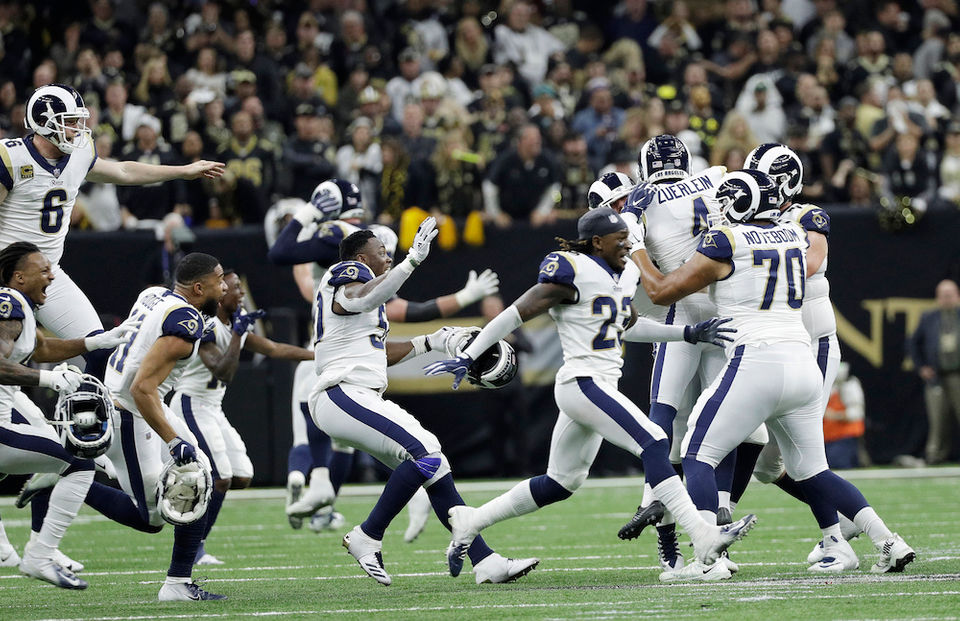 a0ade89615c NFL world rips refs for 'worst no-call of 2018' that screws Saints and  helps Rams into Super Bowl