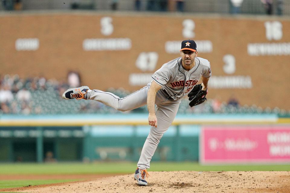 Justin Verlander dominates Tigers in second return since trade to Houston Astros