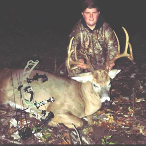 There's beginner's luck -- and then there's Davey Todd. Todd, 16,  of Gasport, N.Y. in Niagara County, has been only been hunting for a little less than three years but already as two bucks of a lifetime to his credit. His first year hunting with a shotgun he downed a monster 16-point buck. And earlier this month, he took an  14-pointer (pictured) with his bow.