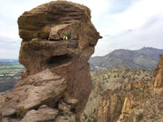 Oregon's Smith Rock beckons climbers from around the world
