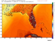 Spring break has Bermuda High, warm temps roaring back to Florida, Southeast