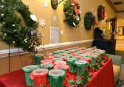 CareOne at Redstone supports Toy for Joy with wreath raffle