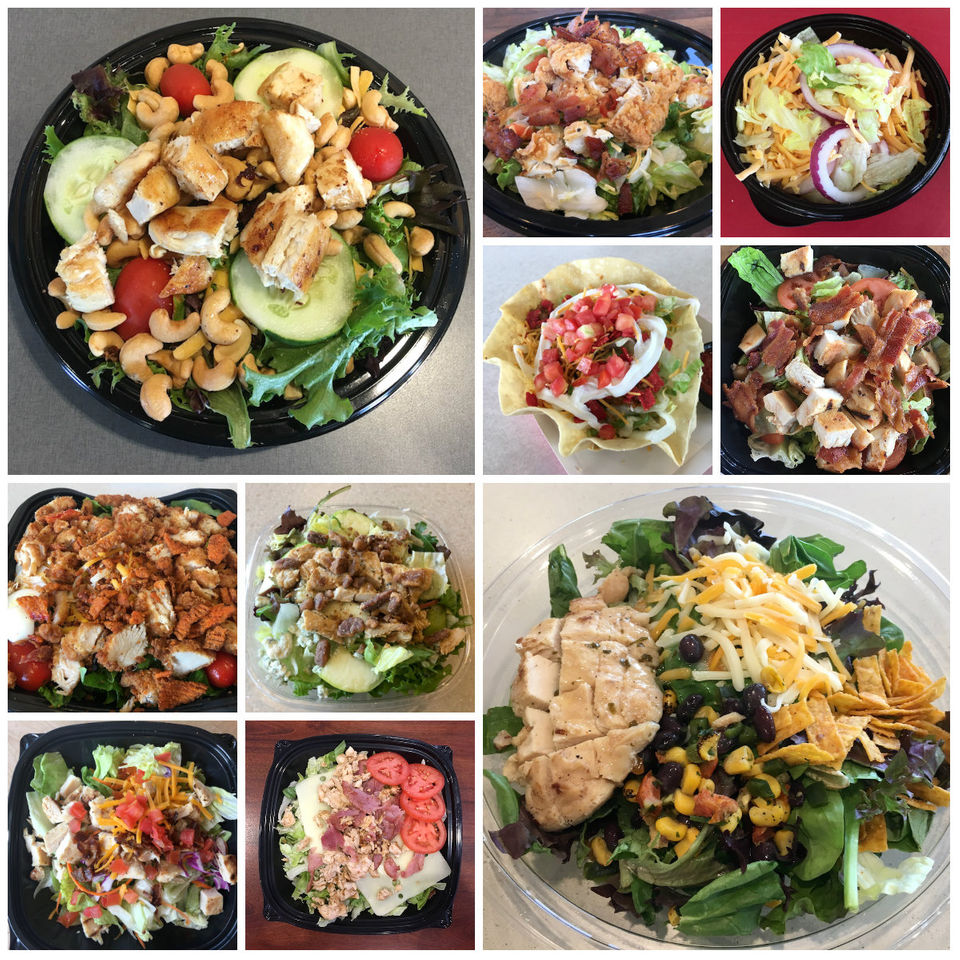 Ranking the best fast food salads from 11 chains; not all were fresh