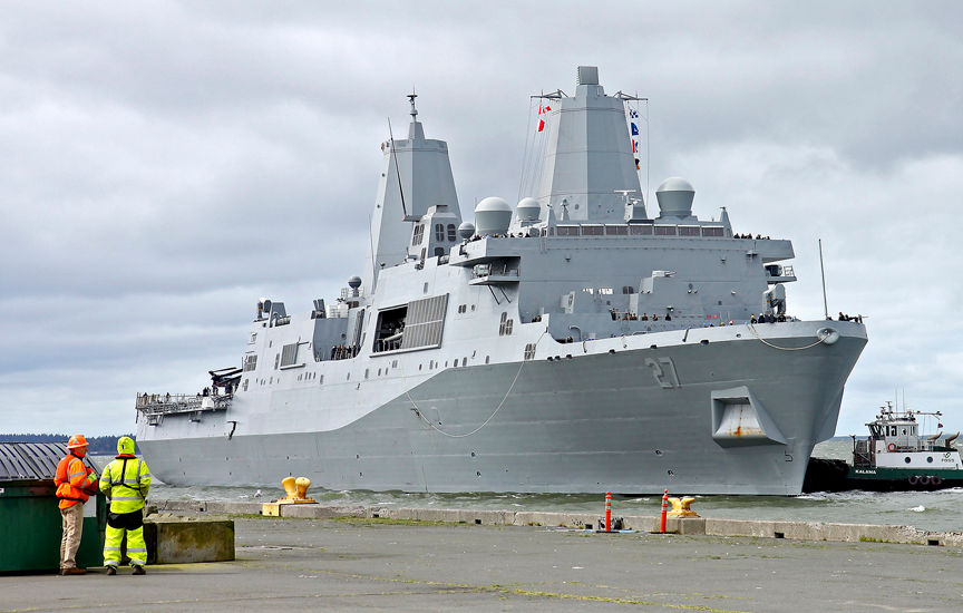 USS Portland to be commissioned