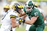 Michigan State drops out of AP Top 25 rankings